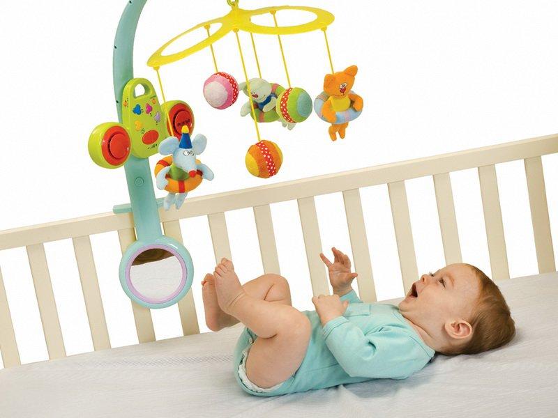 Игрушка для 3 месячного ребенка своими руками