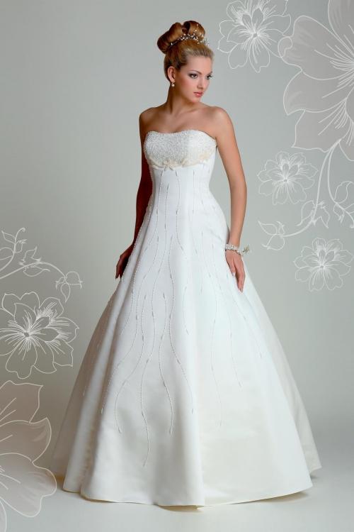 Свадебное платье скрывающее живот фото