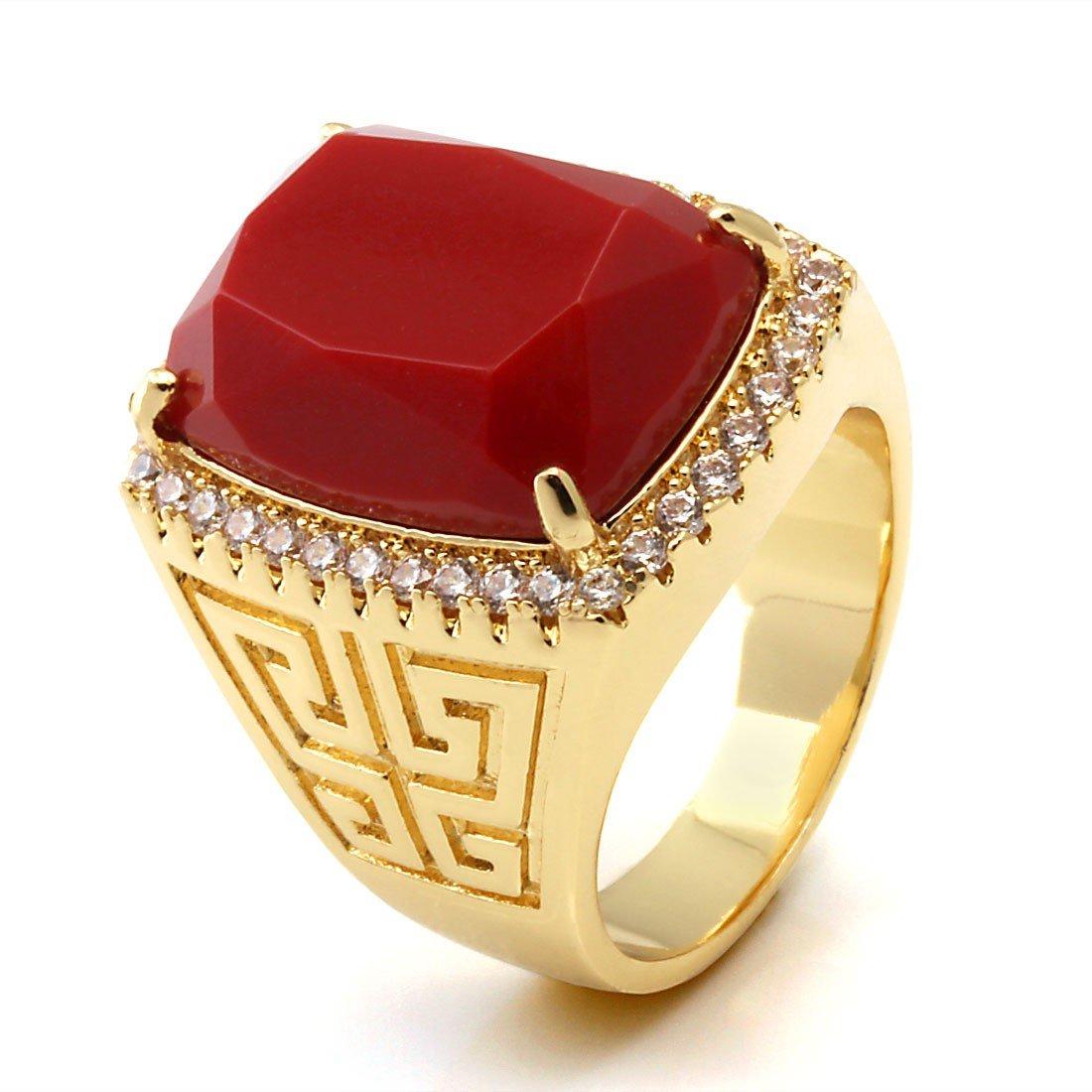 золотые кольца для мужчин